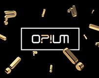 OPIUM - Branding
