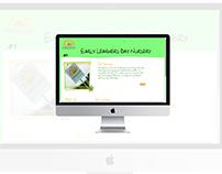 Early Learners Day Nursery Website
