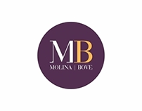 MOLINA BOVE | Logo, flyer, biz cards