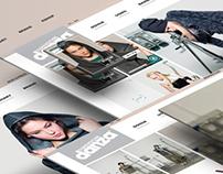 DimensioneDanza.com | Grid-Style Website