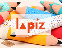 Lapiz - pencil pillow