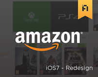 Amazon - iOS7 Redesign
