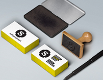 Logo and business cards for Sommelier business