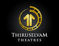 Thiruselvam Theatres Logo