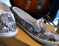 My doodle shoe