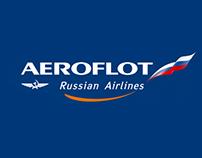 Aeroflot&Manchester United Promo Site