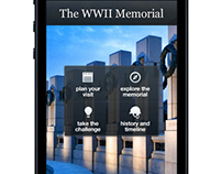 The WWII Memorial Mobile App
