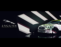 JAGUAR XJ / video mapping installation