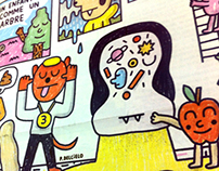 """Le Bazar"" Poster"