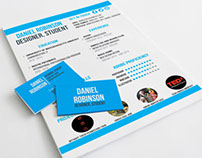 Creative Resume and Contact Card