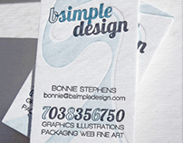 Bsimple Design Business Card