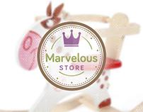 Marvelous Store - Portfolio  www.One-Giraphe.com