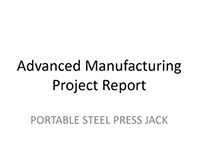 Press Jack Project