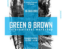 "Poster ""Green & Brown International Workshop"""