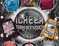 Icheer Backpack Flyer Design