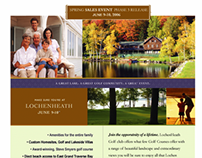 Lochen Heath Direct Mail and Email Marketing Campaign