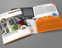 Real Estate Services Bi-Fold Brochure Template