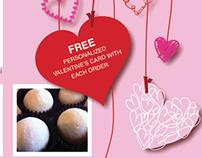 Valentine's Flyer for So Sweet Baked Goods
