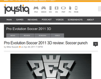 Pro Evolution Soccer 2011 3D (Review)