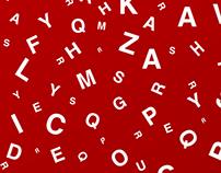 Typographic Christmas Posters
