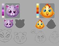 ZooZoo Pop Characters