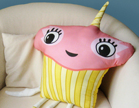 Cupcakicorn sewable creature