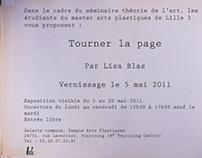LISA BLAS / Tourner la page / in situ