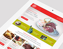 New York Deli News Responsive Redesign
