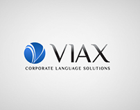 Logo for VIAX Corporate Language Solutions