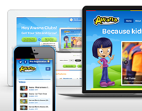 Awana Sites Website Design