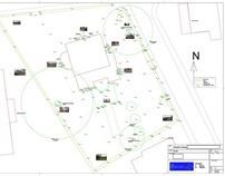 Inmeten t.b.v. tuinontwerp GROENPLAN Tuin- en Landschap