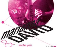 Marianna & David Wedding Invite