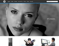 HP Website (Concept Idea)