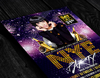 NYE Party 3 | Flyer + Facebook Cover
