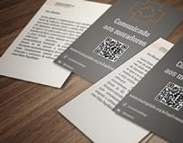 Identidade visual da Associação dos moradores do IAPI.
