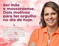 Anúncio Dia das Mães - Prefeita Cláudia Regina