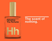Helvetica The Perfume™: The Scent of Nothing