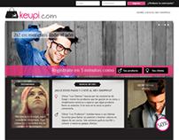 PSD to HTML (Bootstrap) - Keupi