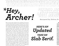 Type Specimen: Archer