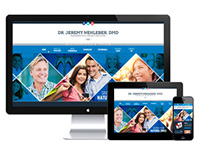 J. Nehleber | Dental Website and Identity