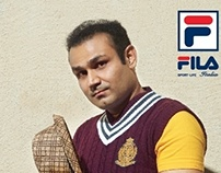 Styling & MUA For FILA India Campaign