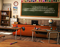 american class room