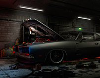 A Dodge in the Garage
