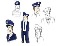 Character design for an internet platform