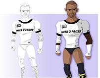 CM Punk 2013 WWE Champion Fan Art - Best in The World