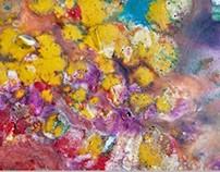Wax painting - ILARIYA