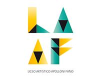 """New Logo   Liceo Artistico """"Apolloni"""" Fano - Italy"""