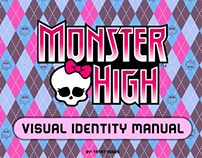 Visual Identity Manual (Monster High-inspired)