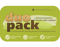 Duopack - logo, cover design and poster
