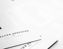 Deluxe Services Branding and Identity